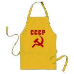 martillo y hoz de URSS del cccp Delantales