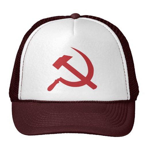 martillo y hoz de URSS del cccp Gorras De Camionero