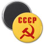 martillo y hoz de URSS del cccp Iman Para Frigorífico