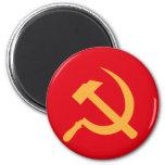martillo y hoz de URSS del cccp Imán De Nevera