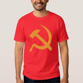 martillo y hoz de URSS del cccp Polera