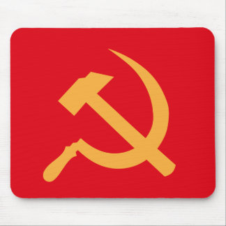 martillo y hoz de URSS del cccp Tapete De Raton