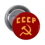 martillo y hoz de URSS del ruso del vintage del cc Pins