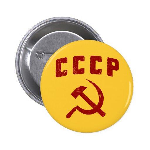 martillo y hoz de URSS del vintage del cccp Pin