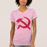 Martillo y sickel camisetas