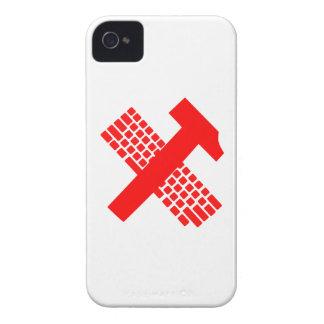 Martillo y teclado Case-Mate iPhone 4 fundas