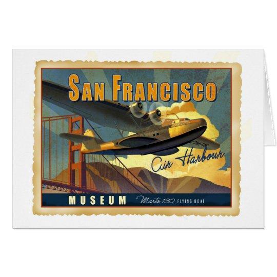 Martin 130 Flying Boat Card