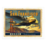Martin 130 Flying Boat Postcard
