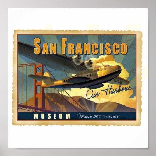 Martin 130 Flying Boat Poster