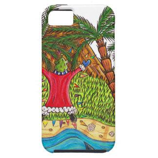 Martin and the desert island paradise iPhone SE/5/5s case