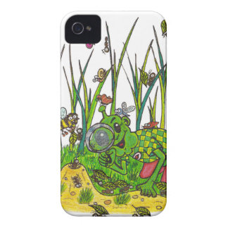 Martin and the Insects iPhone 4 Cover
