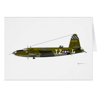 Martin B-26 Marauder Card