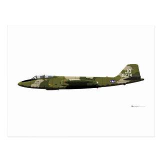 Martin B-57 Canberra Postcard