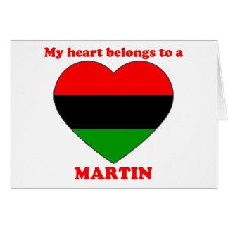 Martin Cards