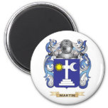 Martin Coat of Arms (Family Crest) 2 Inch Round Magnet