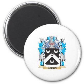Martin Coat of Arms - Family Crest Fridge Magnets