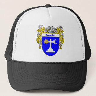 Martin Coat of Arms/Family Crest (Mantled) Trucker Hat
