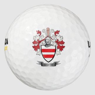 Martin Coat of Arms Golf Balls