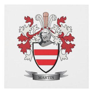 Martin Coat of Arms Panel Wall Art