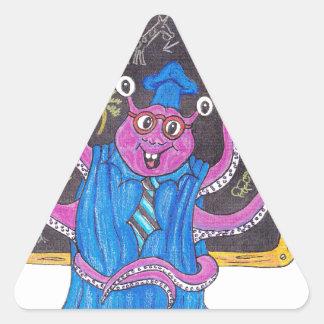 Martin dice a su profesor pegatina triangular