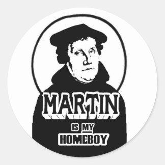 Martin es mis pegatinas del Homeboy