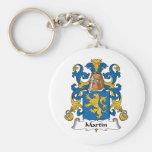 Martin Family Crest Keychain