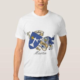 Martin Family Crest T-shirts
