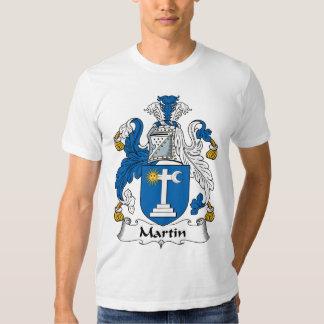 Martin Family Crest Tshirts