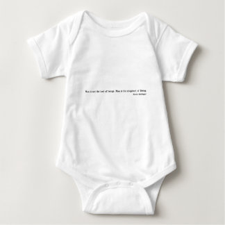 Martin Heidegger Baby Bodysuit