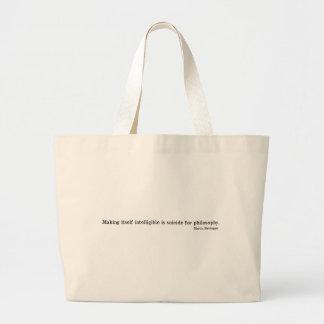 Martin Heidegger Canvas Bag