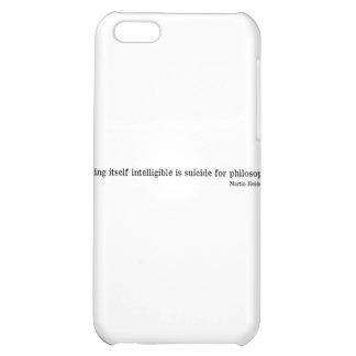 Martin Heidegger iPhone 5C Case