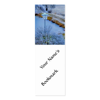 Martin House in Winter Business Card
