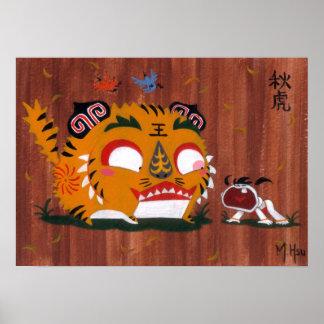 Martin Hsu - Autumn Tiger Posters