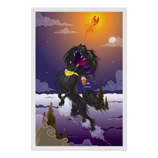 Martin Hsu - Blackie Fireball Poster