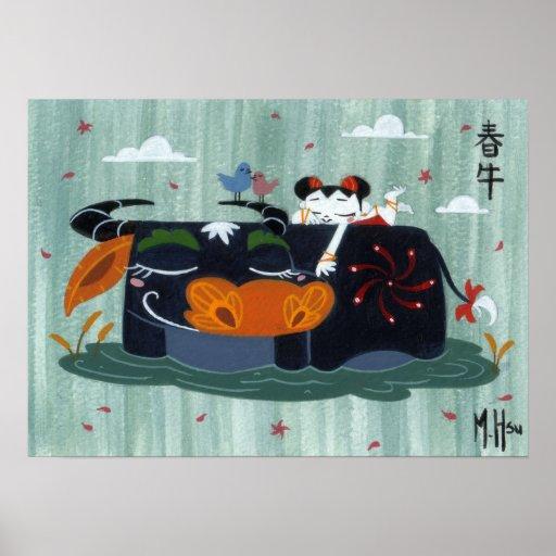 Martin Hsu - Spring Buffalo Poster