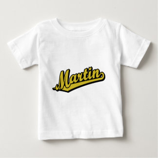 Martin in Gold Tshirt