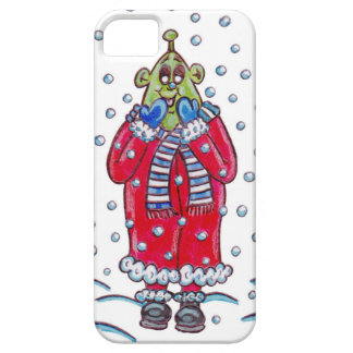 Martin in the Snow iPhone SE/5/5s Case
