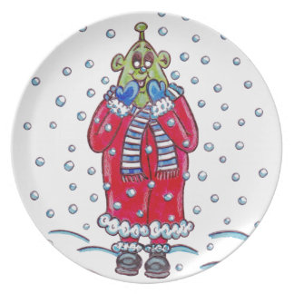 Martin in the Snow Plate