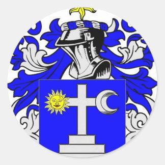 Martin (Ireland) Coat of Arms Classic Round Sticker