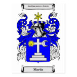 Martin (Ireland) Coat of Arms Post Card