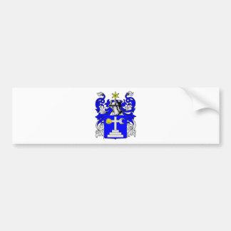 Martin (Irish) Coat of Arms Bumper Sticker