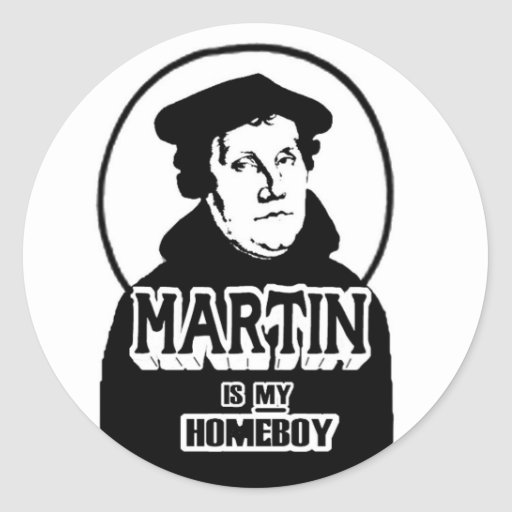 Martin is my Homeboy stickers