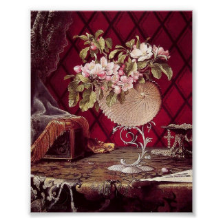 Martin Johnson Apple Blossoms in a Nautilus Poster