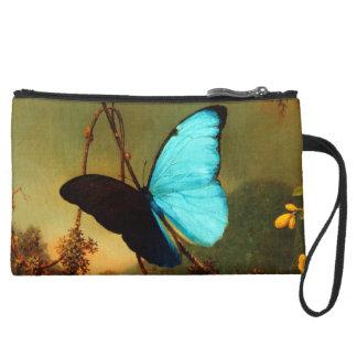 Martin Johnson Heade Blue Morpho Butterfly Wristlets