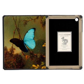 Martin Johnson Heade Blue Morpho Butterfly iPad Mini Retina Covers