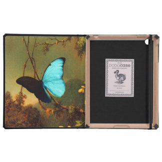 Martin Johnson Heade Blue Morpho Butterfly Case For iPad