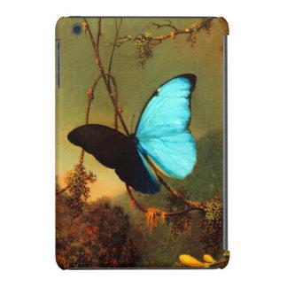Martin Johnson Heade Blue Morpho Butterfly iPad Mini Case