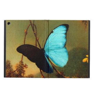Martin Johnson Heade Blue Morpho Butterfly Cover For iPad Air