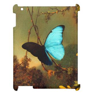 Martin Johnson Heade Blue Morpho Butterfly iPad Case