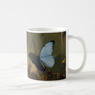Martin Johnson Heade -Blue Morpho Butterfly. Coffee Mugs
